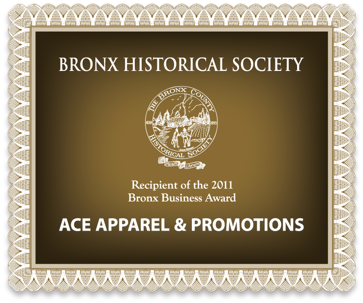 Bronx Historical Society - 2011 Bronx Business Award