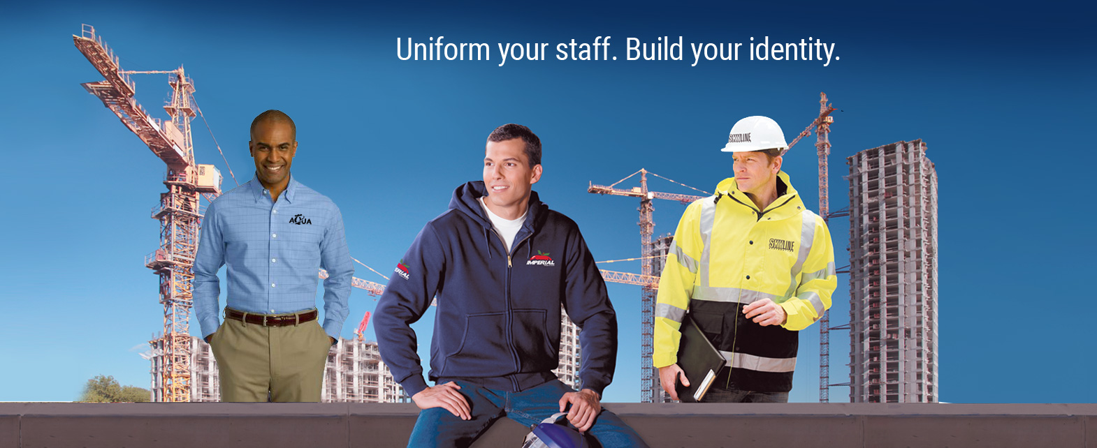 Uniform Your Staff. Build Your Identity.